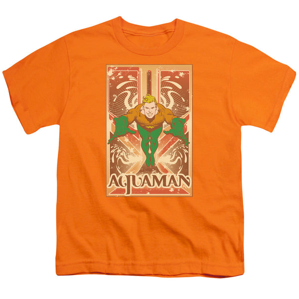 Aquaman: Aquaman Youth T-Shirt - NerdArmor.com