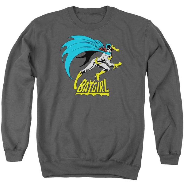 Batgirl: Batgirl Is Hot Crewneck Sweatshirt - NerdArmor.com