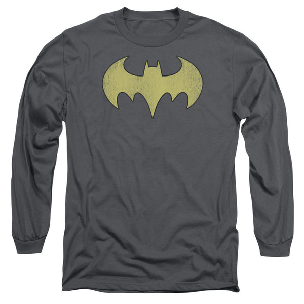 Batgirl: Batgirl Logo Distressed Long Sleeve T-Shirt - NerdArmor.com