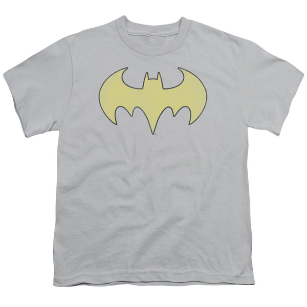 Batgirl: Batgirl Logo Distressed Youth T-Shirt - NerdArmor.com