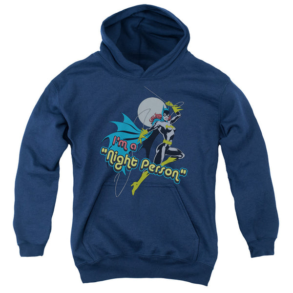 Batgirl: Night Person Youth Hoodie - NerdArmor.com