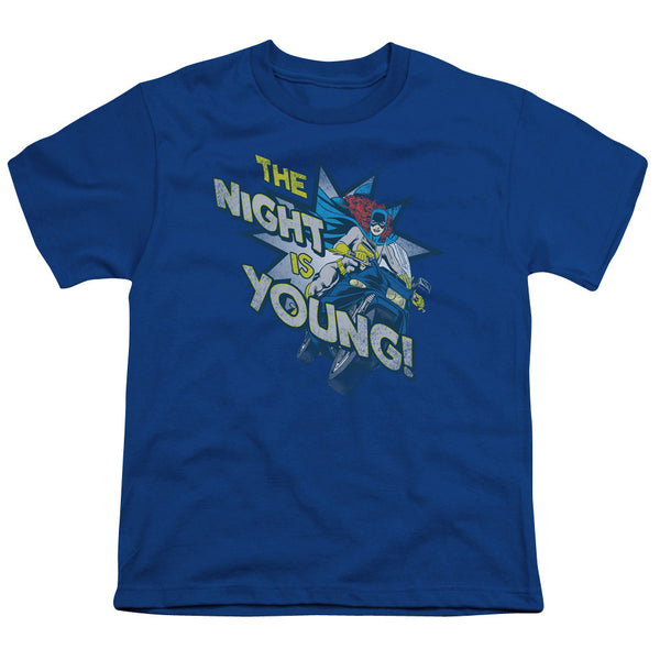 Batgirl: The Night Is Young Youth T-Shirt - NerdArmor.com