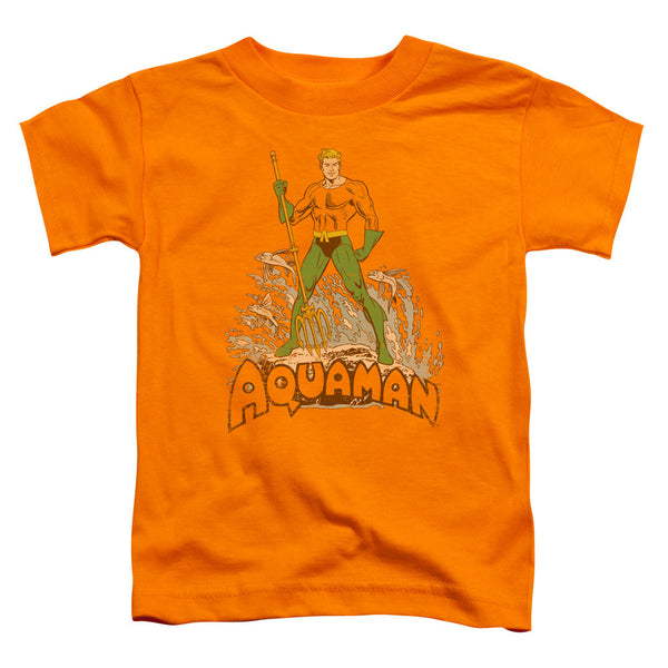 Aquaman: Aquaman Distressed Toddler T-Shirt - NerdArmor.com