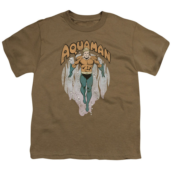 Aquaman: From The Depths Youth T-Shirt - NerdArmor.com