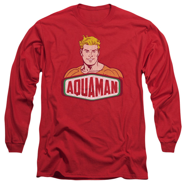 Aquaman: Aquaman Sign Long Sleeve T-Shirt - NerdArmor.com