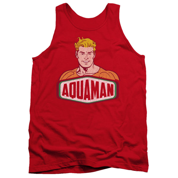 Aquaman: Aquaman Sign Tank Top - NerdArmor.com