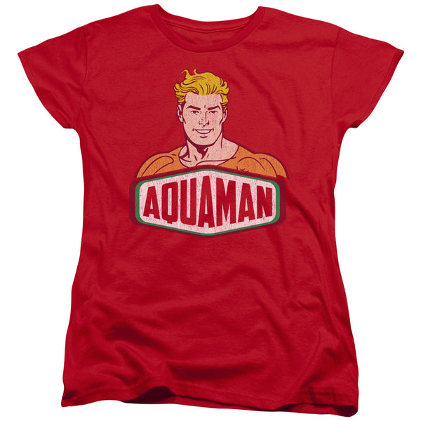 Aquaman: Aquaman Sign Women's T-Shirt - NerdArmor.com