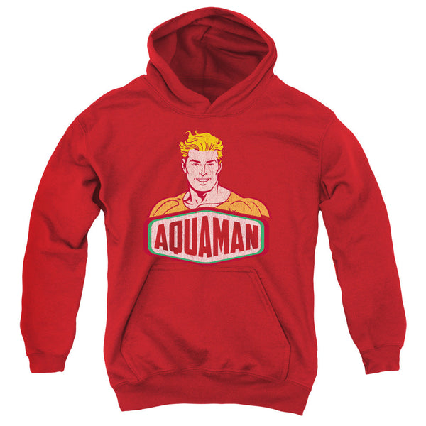Aquaman: Aquaman Sign Youth Hoodie - NerdArmor.com