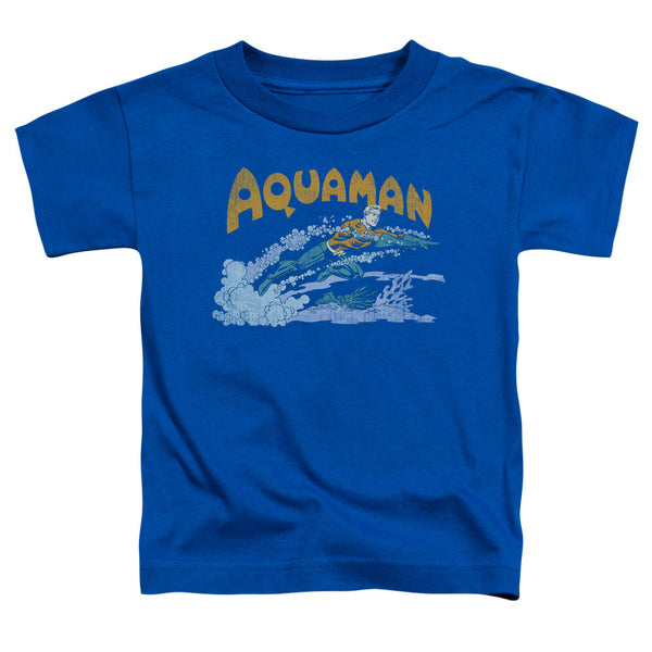 Aquaman: Aqua Swim Toddler T-Shirt - NerdArmor.com