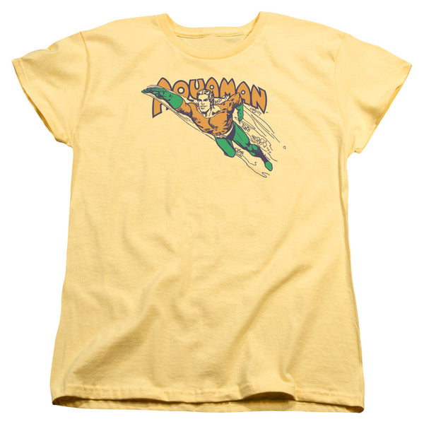 Aquaman: Swim Through Women's T-Shirt - NerdArmor.com