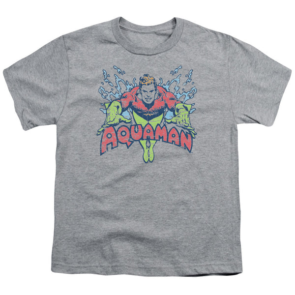 Aquaman: Splish Splash Youth T-Shirt - NerdArmor.com
