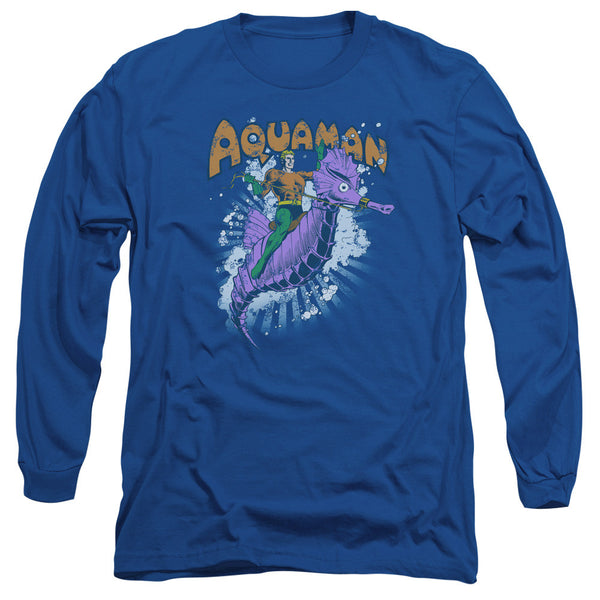 Aquaman: Ride Free Long Sleeve T-Shirt - NerdArmor.com