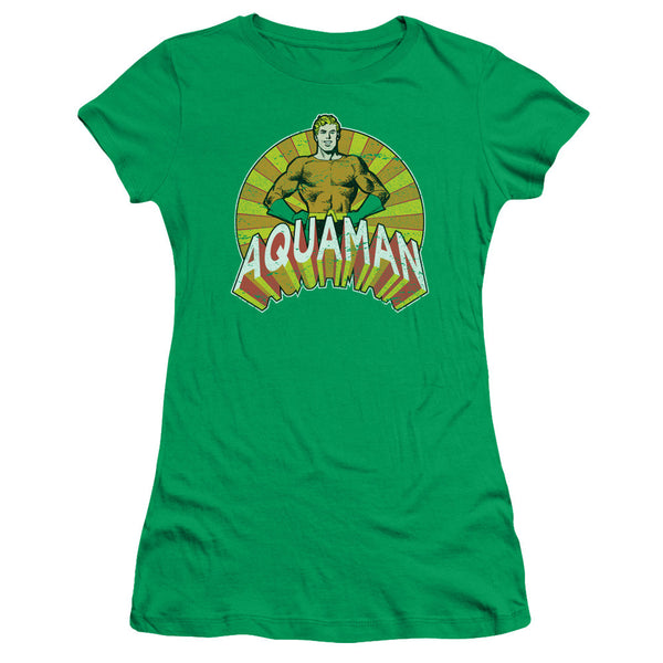 Aquaman: Arms Akimbo Junior T-Shirt - NerdArmor.com