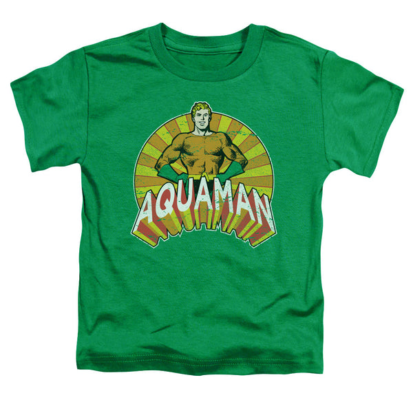 Aquaman: Arms Akimbo Toddler T-Shirt - NerdArmor.com