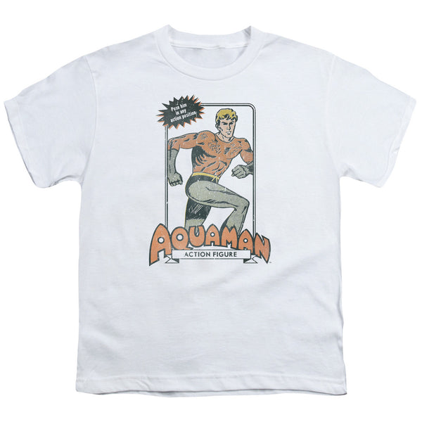 Aquaman: AM Action Figure Youth T-Shirt - NerdArmor.com