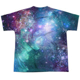 Batgirl: Shielded Galaxy Sublimated Youth T-Shirt - NerdArmor.com - 2