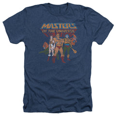 Masters of the Universe: Team Of Heroes Heather T-Shirt - NerdArmor.com