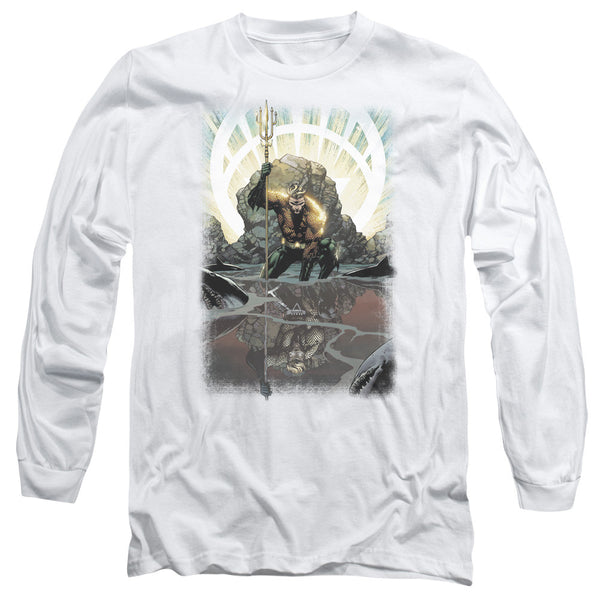 Aquaman: Brightest Day Aquaman Long Sleeve T-Shirt - NerdArmor.com