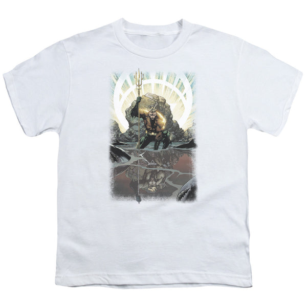 Aquaman: Brightest Day Aquaman Youth T-Shirt - NerdArmor.com