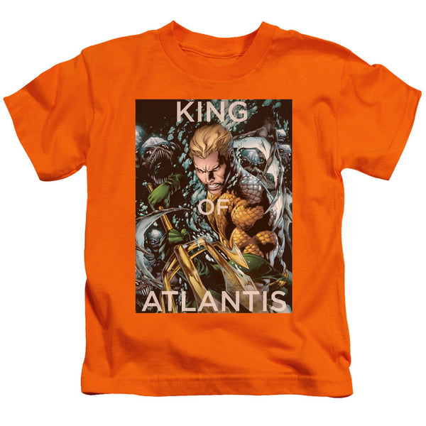 Aquaman: King Of Atlantis Juvy T-Shirt - NerdArmor.com