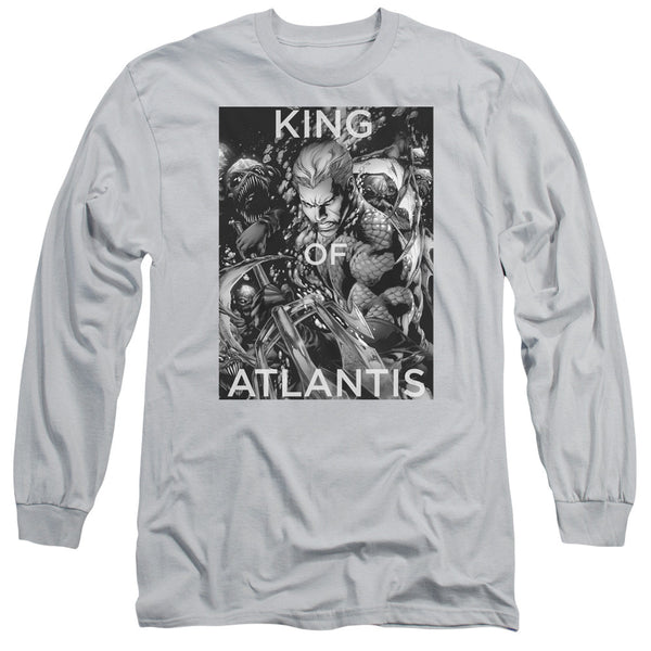 Aquaman: King Of Atlantis Long Sleeve T-Shirt - NerdArmor.com