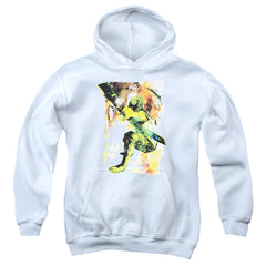 Green Arrow: Painted Archer Youth Hoodie - NerdArmor.com