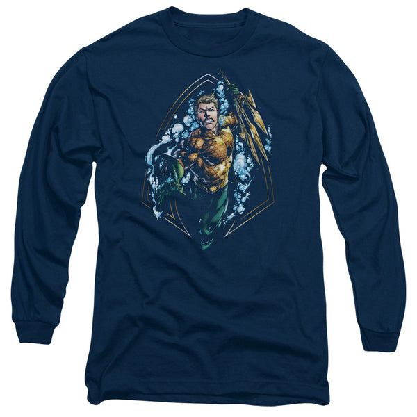 Aquaman: Thrashing Long Sleeve T-Shirt - NerdArmor.com