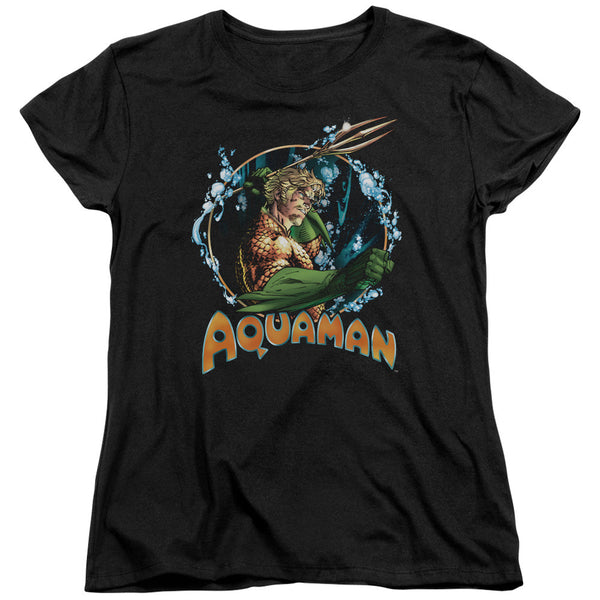 Aquaman: Ruler Of The Seas Women's T-Shirt - NerdArmor.com
