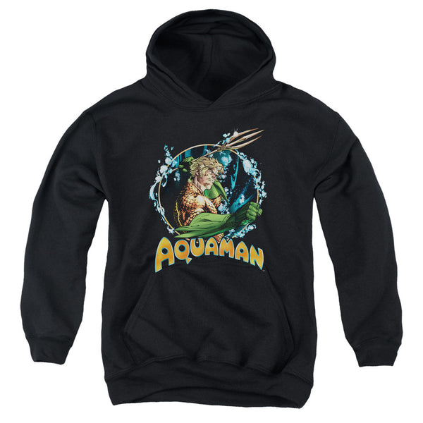 Aquaman: Ruler Of The Seas Youth Hoodie - NerdArmor.com