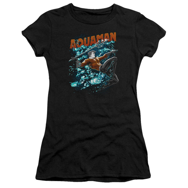 Aquaman: Aqua Bubbles Junior T-Shirt - NerdArmor.com