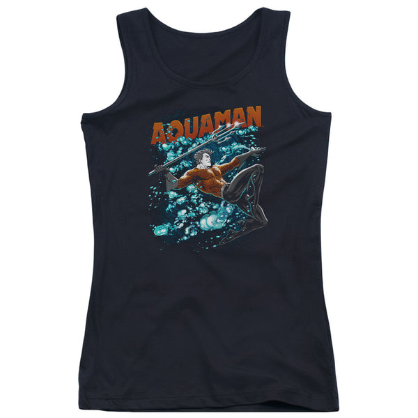 Aquaman: Aqua Bubbles Junior Tank Top - NerdArmor.com