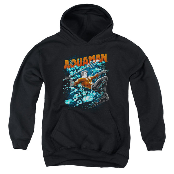 Aquaman: Aqua Bubbles Youth Hoodie - NerdArmor.com
