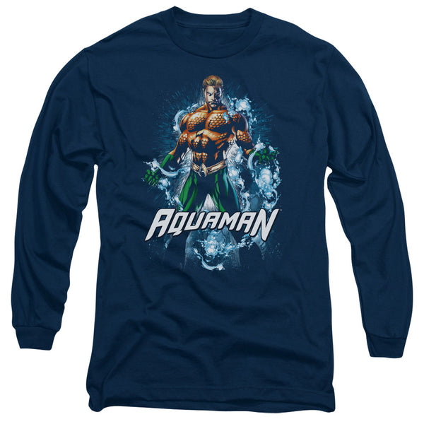 Aquaman: Water Powers Long Sleeve T-Shirt - NerdArmor.com