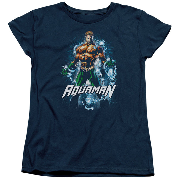 Aquaman: Water Powers Women's T-Shirt - NerdArmor.com