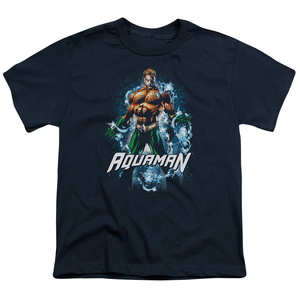 Aquaman: Water Powers Youth T-Shirt - NerdArmor.com