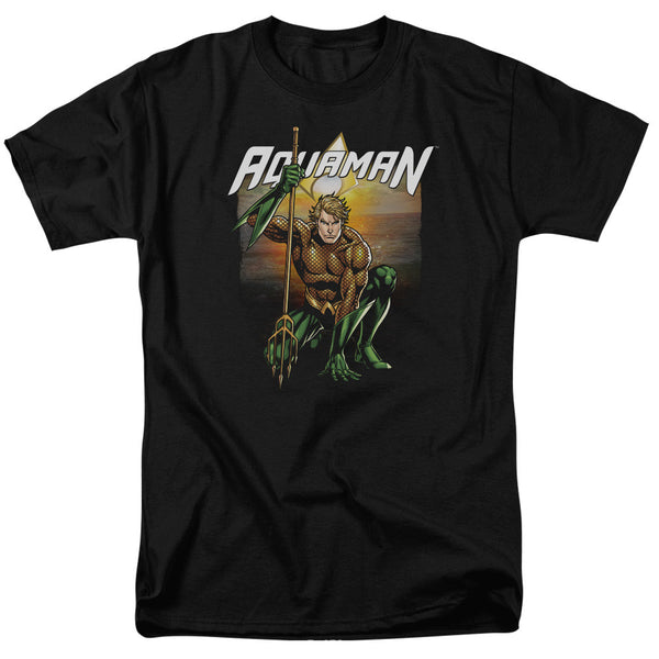 Aquaman: Beach Sunset T-Shirt - NerdArmor.com