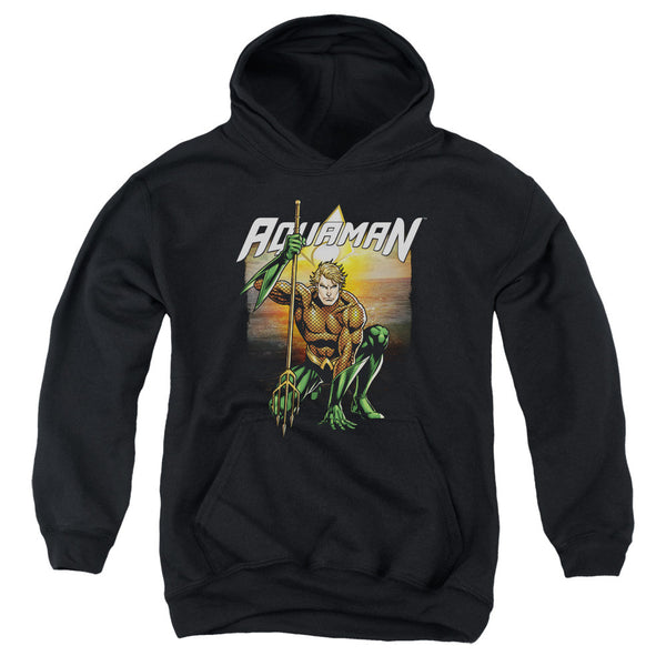 Aquaman: Beach Sunset Youth Hoodie - NerdArmor.com