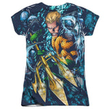 Aquaman: Trident Sublimated Junior T-Shirt - NerdArmor.com - 2