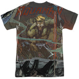 Aquaman: Good vs Evil Sublimated T-Shirt - NerdArmor.com - 2
