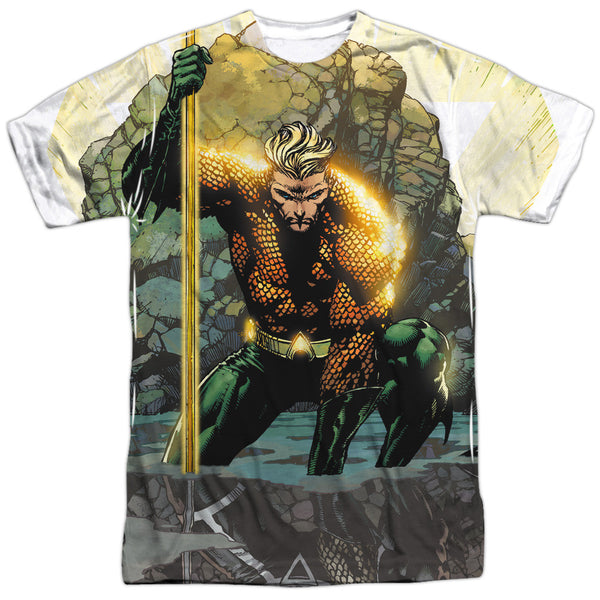 Aquaman: Good vs Evil Sublimated T-Shirt - NerdArmor.com - 1