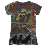 Aquaman: Good vs Evil Sublimated Junior T-Shirt - NerdArmor.com - 2