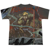 Aquaman: Good vs Evil Sublimated Youth T-Shirt - NerdArmor.com - 2