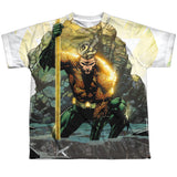 Aquaman: Good vs Evil Sublimated Youth T-Shirt - NerdArmor.com - 1