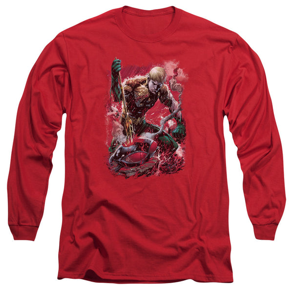 Aquaman: Finished Long Sleeve T-Shirt - NerdArmor.com