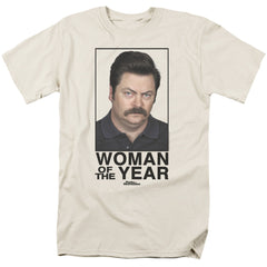Parks & Recreation: Woman Of The Year T-Shirt - NerdArmor.com