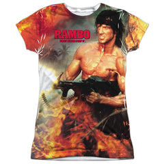 Rambo: Become War Sublimated Junior T-Shirt - NerdArmor.com - 1