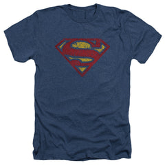 Superman: Crackle S Heather T-Shirt - NerdArmor.com