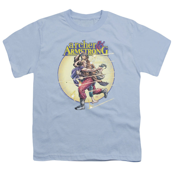Archer & Armstrong: Vintage A & A Youth T-Shirt - NerdArmor.com