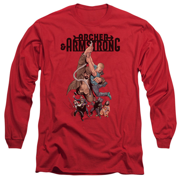 Archer & Armstrong: Hang In There Long Sleeve T-Shirt - NerdArmor.com