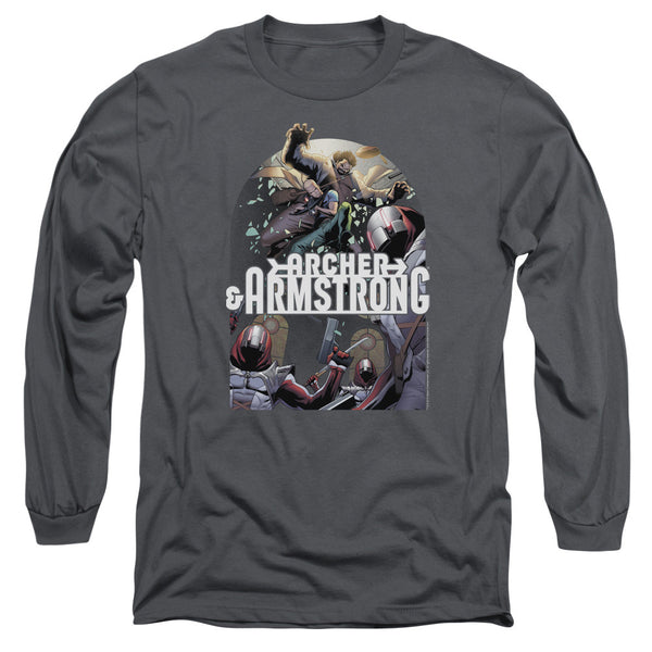 Archer & Armstrong: Dropping In Long Sleeve T-Shirt - NerdArmor.com